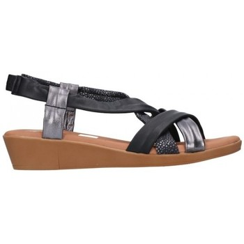 Chaussures Femme Sandales et Nu-pieds Oh My Sandals For Rin OH MY SANDALS 4670 AREN NEGRO COMBI Mujer Negro noir