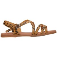 Chaussures Femme Sandales et Nu-pieds Oh My Sandals For Rin OH MY SANDALS 4640 TODO REPTILE MOSTAZA Mujer Amarillo jaune