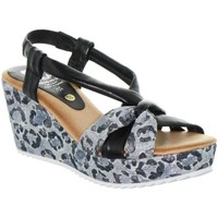 Chaussures Femme Escarpins Marila Compensées  ref_48945 multi noir