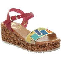 Chaussures Femme Escarpins Marila Compensées  ref_48931 multi marron