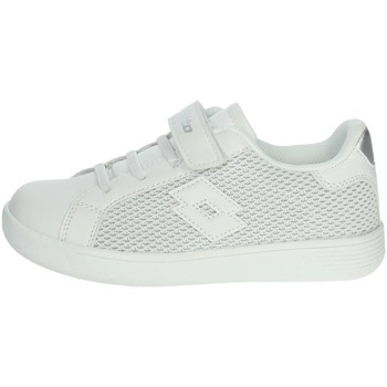 Chaussures Fille Baskets basses Lotto 213690 Blanc/Argent