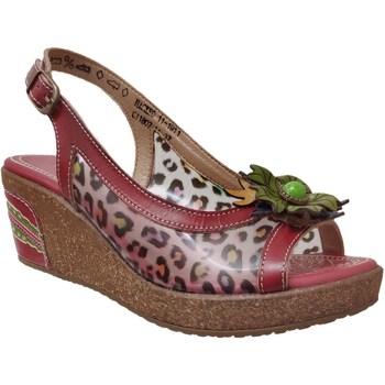 Chaussures Femme Sandales et Nu-pieds Laura Vita Hackeo 11 Rouge