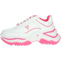 Chaussures Femme Baskets basses Windsor Smith CHAOS Blanc/Fuchsia