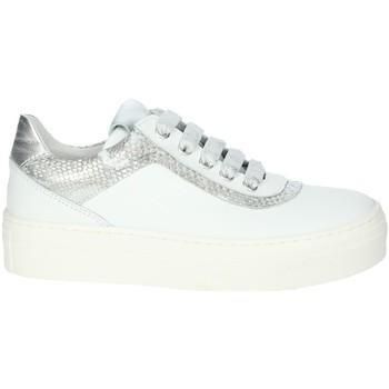 Chaussures Fille Baskets basses Le Petit Bijou 6430LPB Blanc/Argent