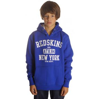 Vêtements Garçon Sweats Redskins Sweat garçon  Enzo Bleu Electric Bleu