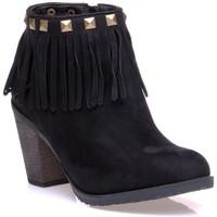 Chaussures Femme Bottines Refresh 0662601 Noir