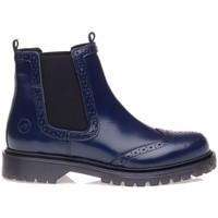 Chaussures Femme Bottes Bronx 0661001 Bleu