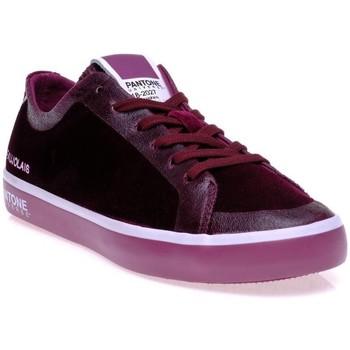 Chaussures Femme Baskets basses Pantone 8018602 Rouge