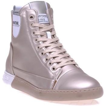 Chaussures Femme Baskets montantes Pantone 8018502 Gris