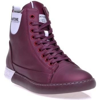 Chaussures Femme Baskets montantes Pantone 8018503 Violet