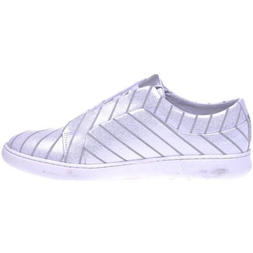 Pantone 8018401 Gris - Chaussures Baskets Basses Femme 189