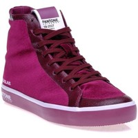 Chaussures Femme Baskets montantes Pantone 8018702 Rouge