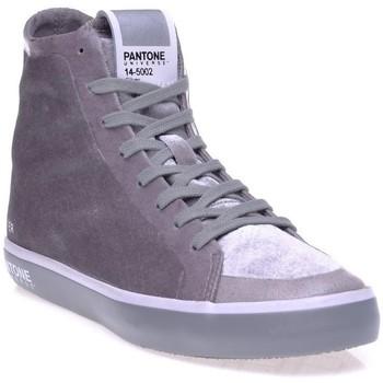 Chaussures Femme Baskets montantes Pantone 8018701 Gris