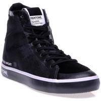 Chaussures Femme Baskets montantes Pantone 8018704 Noir