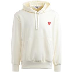 Vêtements Homme Sweats Comme Des Garcons Sweatshirt  ivoire à cœur rouge Blanc
