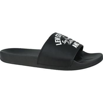 Chaussures Homme Claquettes Levi's June California Noir