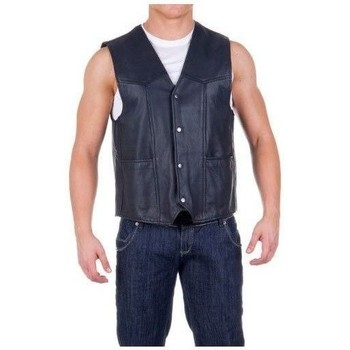 Vêtements Vestes en cuir / synthétiques Zerimar CHANDLER Noir