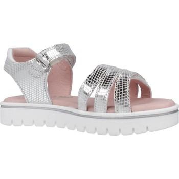 Chaussures Fille Sandales et Nu-pieds Garvalin 202652 Argent