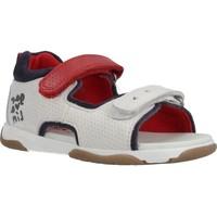 Chaussures Garçon Sandales et Nu-pieds Garvalin 202336 Blanc