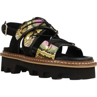 Chaussures Femme Sandales et Nu-pieds Elvio Zanon EL0901X Noir