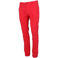 Vêtements Homme Chinos / Carrots La Maison Blaggio Tenali red pant chino Rouge