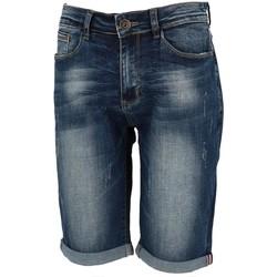 Vêtements Homme Shorts / Bermudas La Maison Blaggio Veria denim nv bermuda Bleu marine / bleu nuit