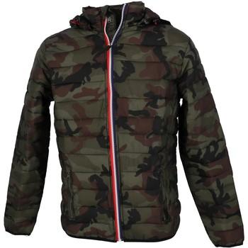 Vêtements Homme Doudounes Hite Couture Nadralo camo kk doudoune Kaki Army