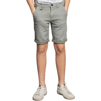 Vêtements Garçon Shorts / Bermudas Deeluxe Short TRADEL Light Grey