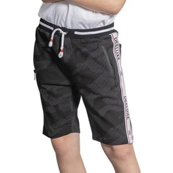 Vêtements Garçon Shorts / Bermudas Deeluxe Short PROTECT Black