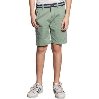 Vêtements Garçon Shorts / Bermudas Deeluxe Short VERDE Green Tea