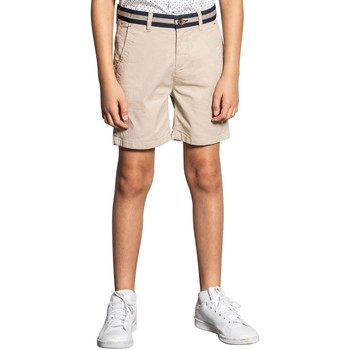 Vêtements Garçon Shorts / Bermudas Deeluxe Short VERDE Light Beige