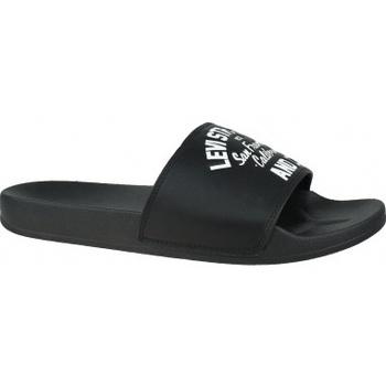 Chaussures Homme Claquettes Levi's Levis June California noir
