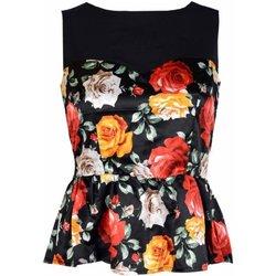 Vêtements Femme Tops / Blouses Guess W91H76WB4P0 Noir