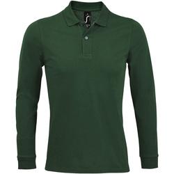 Vêtements Homme Polos manches longues Sols PERFECT LSL COLORS MEN Verde