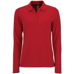 Vêtements Femme Polos manches longues Sols PERFECT LSL COLORS WOMEN Rojo