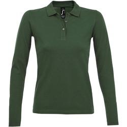 Vêtements Femme Polos manches longues Sols PERFECT LSL COLORS WOMEN Verde