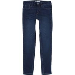 Vêtements Fille Jeans slim Levi's Jeans fille brut Bleu