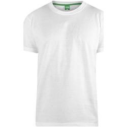 Vêtements Homme T-shirts manches courtes Duke  Blanc