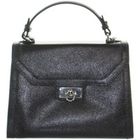 Sacs Femme Sacs porté main Mac Douglas Sac à main Manhattan Buni  cuir ref_489 Noir