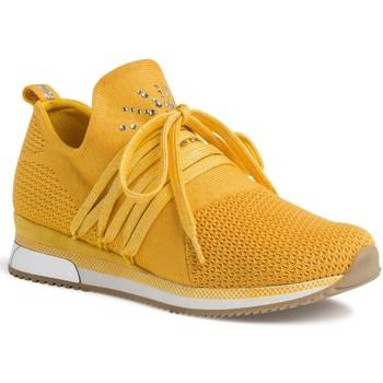 Chaussures Femme Baskets basses Marco Tozzi 23738 jaune