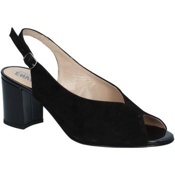 Chaussures Femme Sandales et Nu-pieds Enval VALLEVERDE Tronchetto 46103 scarpe stivaletto pelle donna nero Black