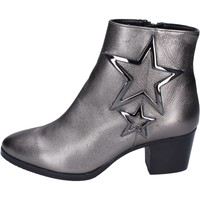 Chaussures Femme Bottines Albano bottines cuir gris