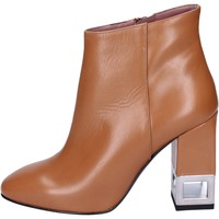 Chaussures Femme Bottines Albano bottines cuir marron