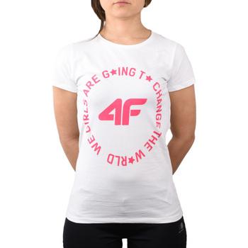 Vêtements Enfant T-shirts & Polos 4F Girl's T-shirt HJL20-JTSD013A-10S