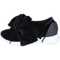 Chaussures Femme Slip ons Elena Iachi slip on velours noir