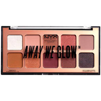 Beauté Femme Palettes maquillage yeux Nyx Away We Glow Shadow Palette lovebeam 10x1 Gr 10 x 1 g