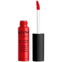 Beauté Femme Rouges à lèvres Nyx Soft Matte Lip Cream amsterdam  8 ml