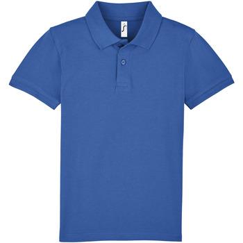 Vêtements Enfant Polos manches courtes Sols PERFECT KIDS COLORS Azul