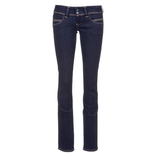 Vêtements Femme Jeans droit Pepe jeans VENUS Bleu m15