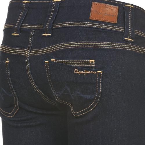 Femme M15 Jeans Venus Bleu Droit Pepe mn0y8ONvw